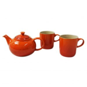 LE CREUSET≪ルクルーゼ≫ TEA FOR TWO ティーポット&マグカップ2個セット(SS) 86
