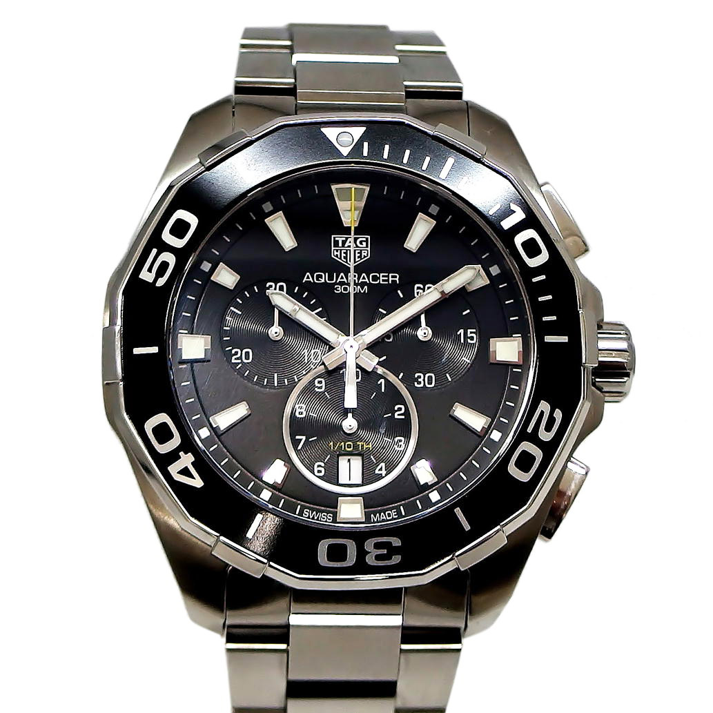 cheap for discount c8877 58fd4 TAG HEUER タグホイヤー アクアレーサー クロノグラフ Ref ...